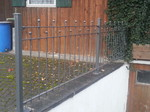 Zaun im Unterallgäu