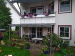 Terrassenüberdachung an Balkon